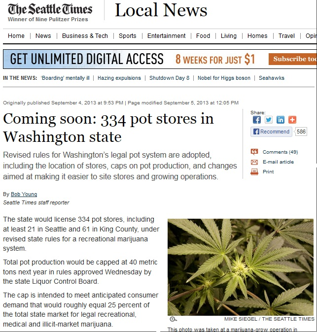 334 pot stores in washington state