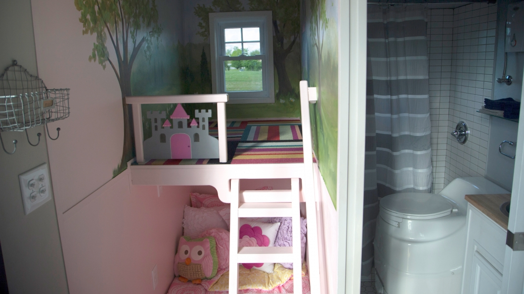 Daughters bedroom and play area.