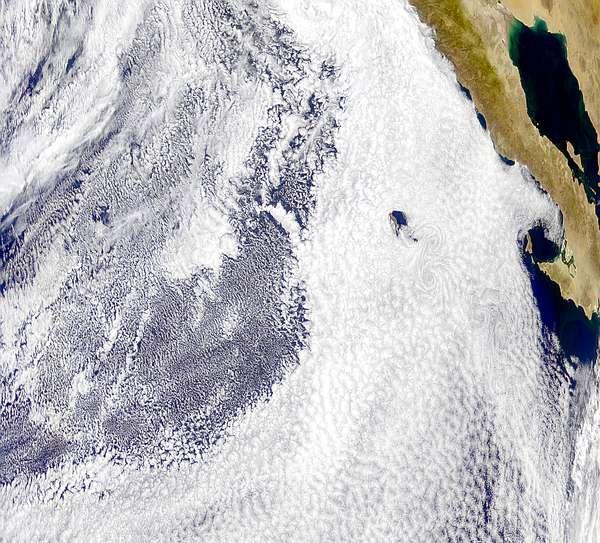 Baja cloud formation