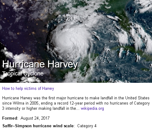 hurricane harvey profile
