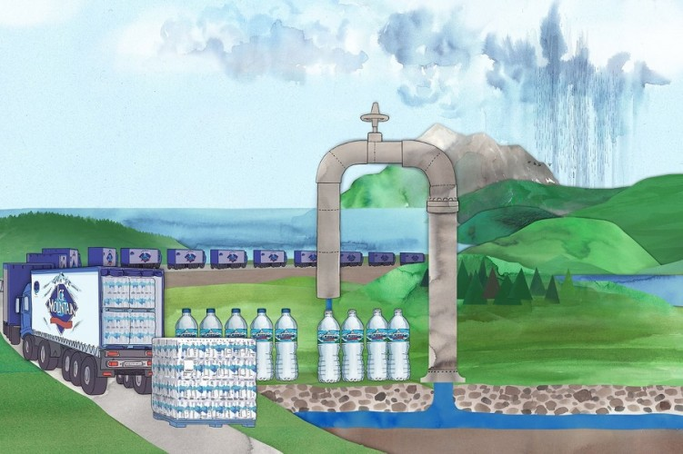 How Nestle Makes Billions Selling You Groundwater in A Bottle