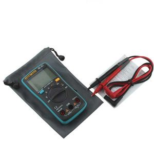 FREE Digital Multimeter for monitoring the actual current flowing through the treatment site.