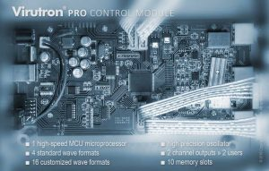 The motherboard of the Virutron™ Pro Full Spectrum Antiviral + NeuroSweep™ CES/tDCS in One.